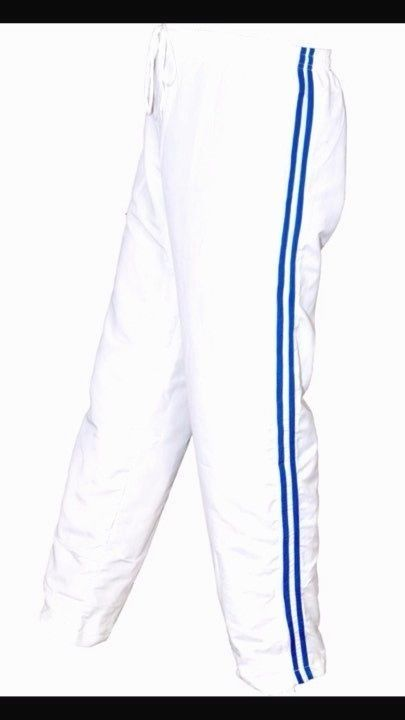 Mens Tracksuit Bottoms Mesh Lining Silky Casual Gym Joggers Sweat Pants White Na